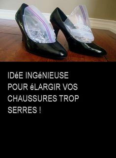 Idée ingénieuse pour élargir vos chaussures trop serres ! Tap Shoes, Dance Shoes, Mary Janes, Sneakers, Tips, Leather Boots, I Will Protect You, Home Remedies, Hacks