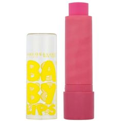 Maybelline Baby Lips Lip Balm Pink Punch ($3.61) ❤ liked on Polyvore featuring beauty products, makeup and pink punch