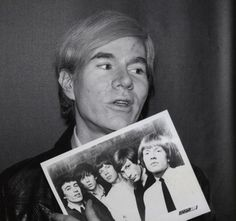 ROLLINGSTONIA: Andy Warhol et les ROLLING STONES