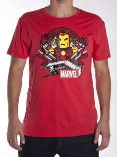 tokidoki x Marvel Iron Man Missile Men's Tee