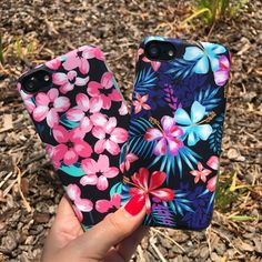 Welcoming the weekend Nightlily & Lilac Kiss Case for iPhone 7 & iPhone 7 Plus from Elemental Cases