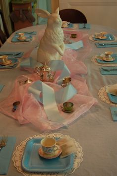Alice in wonderland bridal shower or rehersal party dinner maybe?