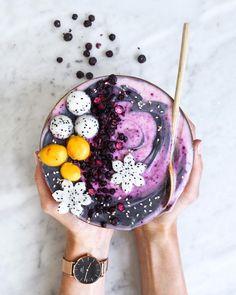 Galaxy Smoothie Bowl | by VANELJA