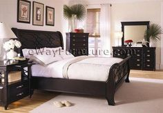 25 Dark Wood Bedroom Furniture Decorating Ideas   Pinterest   Black ...