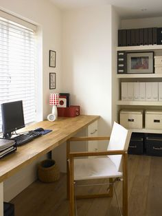 Decorations & Accessories, Really Simple Home Working Area 46 Relaxed Neutral Room Design Ideas