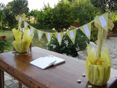 Yellow Weddings, Receptions, Table Decorations, Home Decor, Decoration Home, Room Decor, Wedding Ceremony, Party, Home Interior Design