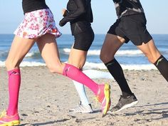 """High Compression Socks from ProCompression Use discount code """"PINK2"""" for 40% off all purchases! Good thru December 15th!"""