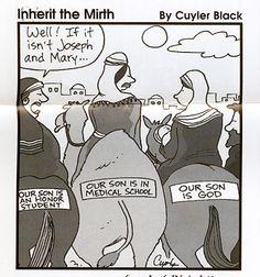 Cartoons From The Bulletin | Bolton Community Friends Church