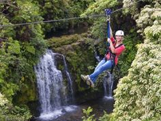 Around the World with #ANCO: Zip-lining in Hawaii. #ANCORoadTripContest