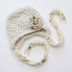 Simply Swirls Earflap Hat by Bowtykes....Absolutely LOVE her designs!!!
