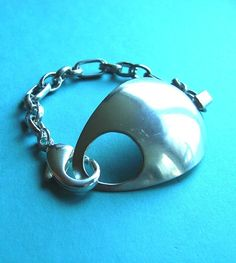 Hooked on SpoonZ Silverware Bracelet. $29.99, via Etsy.