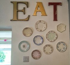 So, the other weekend I spent way too long hanging some fantastic old plates on our kitchen wall with my girlfriend. The only thing we knew ...