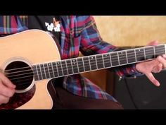 ▶ How to Play - She Talks to Angels by The Black Crowes - Guitar Lesson - Tutorial - Acoustic - YouTube
