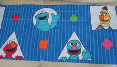 Lot of 2 vintage Sesame Street valances. JP Stevens - Made in the USA They measure approx 42 inches long.  One is in excellent vintage condition. One does hav
