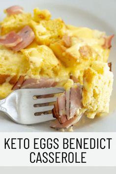 Trim Healthy Recipes, Low Carb Recipes, Eggs Benedict Casserole, Keto Egg Recipe, Joy Filled Eats, Keto Casserole, Low Carb Breakfast, Breakfast Ideas, Delicious Breakfast Recipes