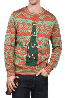 cad80c4960 Men's Ugly Christmas Sweaters | Ugly Sweaters For Men A Christmas Story,  Trump Christmas,
