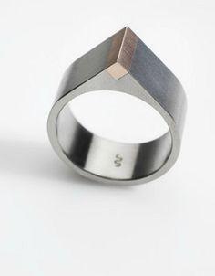Klara Sipkova | Ring Hana - be better if it was all silver