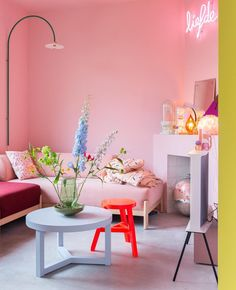 Home Decoration Ideas Bathroom .Home Decoration Ideas Bathroom Pastel Room, Pink Room, Cheap Beach Decor, Cheap Home Decor, Colorful Apartment, Target Home Decor, Pink Walls, Minimalist Home, Home Decor Accessories