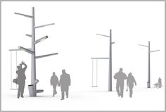 KiBiSi Rethinks Street Lights With Forest Of Urban Trees | Co.Design | business + design