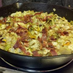 Southern Fried Cabbage Recipe | Just A Pinch Recipes