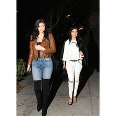 Kylie Jenner Wears a Very Mod Look to Lunch ❤ liked on Polyvore featuring home and kitchen & dining
