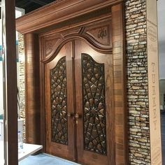Carved Doors Wooden Ideas Wood Doors Are Warm and Welcoming Carved Doors Wooden Ideas. Custom wood doors, whether elegant or rustic, are a durable choice that can really set off the style of your h… House Design, Wooden Doors, Woodworking Lamp, Woodworking, Wood Doors, Wooden Main Door Design, Doors Interior, Beautiful Doors, Front Door Design
