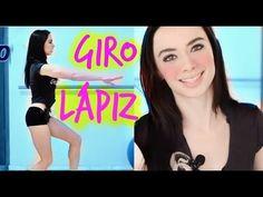 Tutorial Giro de Lápiz, Paso de JAZZ / Perfecta de Pies a Cabeza (Dani Zilli) - YouTube