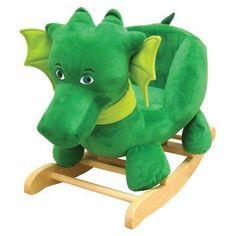 Puff the Magic Dragon Rocking Toy - 62110, Durable