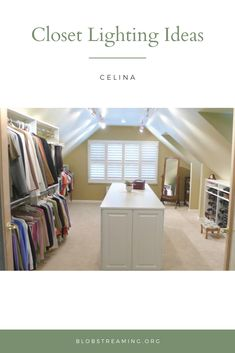 33 closet lighting ideas ruang ganti