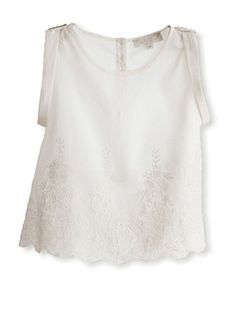 50% OFF Pale Cloud Girl's Lillie Top