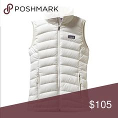 Patagonia down sweater vest, BIRCH white, size S Patagonia White down vest, perfect condition Patagonia Jackets & Coats Vests
