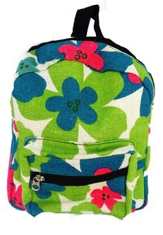 Floral Baby Backpack