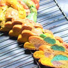 Rainbow Milk, Natural Food Coloring, Vegetable Puree, Natural Colors, Tasty, Bread, Popular, Texture, Vegetables