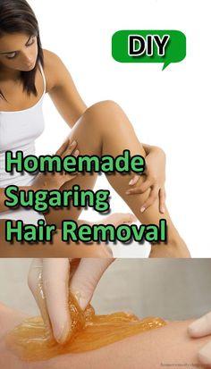 DIY Homemade Sugaring Hair Removal