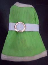 Dawn Doll Clothes, Stewardess Jessica, Lime Green Short Dress white belt