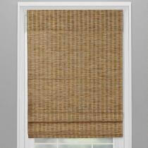 Wheat Cordless Roman Window Shade