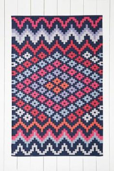 Gozler 5x7 Rug in Pink - Urban Outfitters