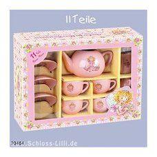Prinzessin Lillifee Tee - Service, Teegeschirr, Puppengeschirr