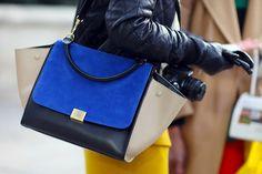 181133a4f2 Bourse fantôme de sac à main de sac de Boston de bagage de trapèze de Celine