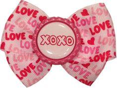 Love XOXO by RebelBowz on Etsy