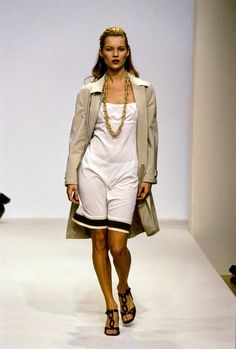 Prada Spring 1996 Ready-to-Wear Fashion Show - Kristen McMenamy