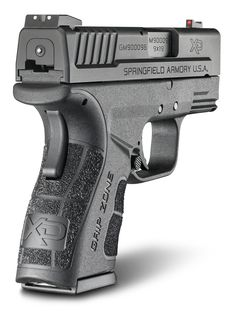 XD Mod.2 Sub-Compact 9MM Handgun with GripZone Grip Texture