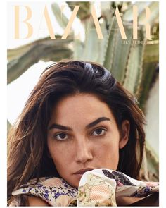 American top model Lily Aldridge looks ready for a vacation for the October 2018 issue of Harper's Bazaar Greece. Lensed on Hydra Island by photographer . Lily Aldridge, Fashion Cover, Star Fashion, Santa Monica, American Top Model, Pictures Of Lily, Dior, Sports Illustrated Models, Vogue