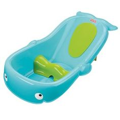 Fisher Price Precious Planet Whale of a Tub  is a adorable whale bath center that grows with baby to make bath time comfortable, fun and easy.