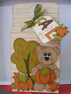 Gift Bag created using Pumpkin Patch Bears
