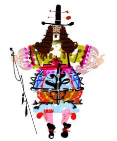 Christian Lacroix x la Comédie Française, la collab' design Christian Lacroix, Illustration Sketches, Graphic Illustration, Fashion Illustrations, Christian Drawings, A Level Textiles, Culture Art, Art Costume, Doodle Drawings
