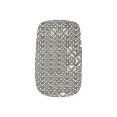 Warrior Look Chain Mail Minx Nails #minxnails #nailarmour