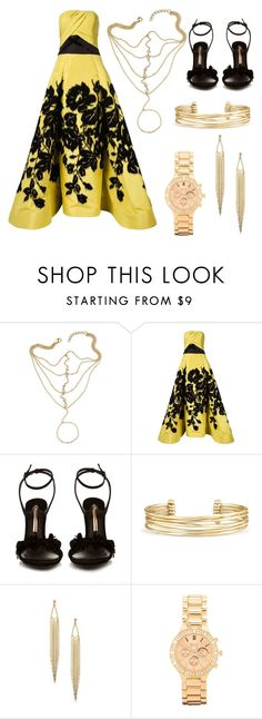 """Untitled #108"" by meen16 ❤ liked on Polyvore featuring Carolina Herrera, Sophia Webster, Stella & Dot and BKE"