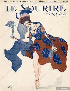 Original vintage published in 1918 Savy Vintage Advertisements, Vintage Ads, French Vintage, Vintage Posters, Vintage Illustration Art, Vintage Artwork, Vintage Prints, Character Words, Art Deco