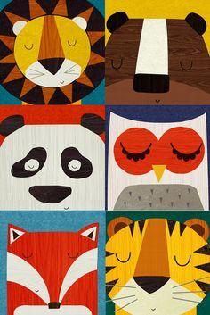 Idée de déco pour chambre d'enfants : des affiches poétiques pour habiller les murs